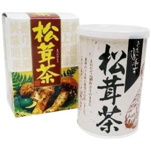 マン・ネン 松茸茶(カートン) 80g×60個セット  0007011 豊かな香り&栄養満点の松茸茶♪|profit