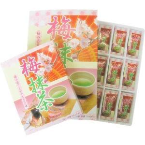 マン・ネン 梅抹茶(小) (2g×12袋入)×60個セット 0012104 梅昆布茶に抹茶、あられを加えたお茶です。|profit