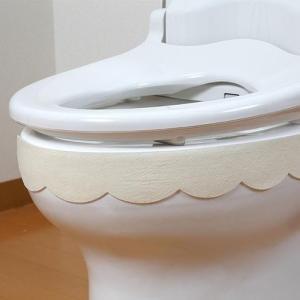 サンコー おしっこ垂れ防止テープ 使い捨てタイプ 幅広 無地 CR(クリーム) 4枚入 AF-40 貼るだけ簡単!!便器のフチを伝う尿を吸い取ります!!|profit