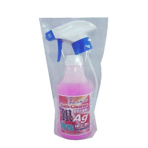 お掃除ソムリエ 酸性銀(Ag)洗剤 バスクリーナー 300ml AG-S300 泡切れ抜群!!すすぎ性良好!!|profit