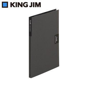 カードホルダー・カーズ(A4溶着式) タテ型 420ポケット 黒 47 見開きに20枚の名刺が収まるA4判カードホルダー。|profit