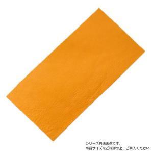 レザークラフト カットミンクル 20×40cm 黄|profit