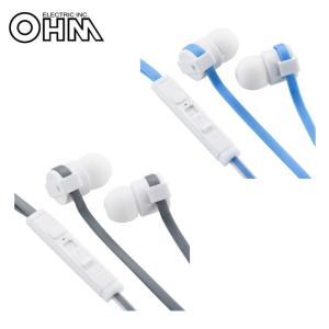 OHM AudioComm ステレオイヤホン リモコン付 B16Z|profit