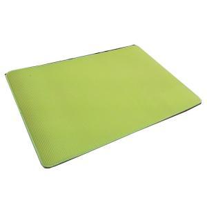 大島屋 ふわりーなシリーズ マルチマット リバーシブル GN(グリーン) 約60×90cm ふんわりやわらかな疲労軽減マットです。|profit