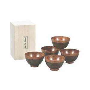 Kano(カノー) 墨屋工房 汁椀揃 木箱入|profit