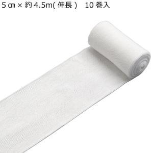 竹虎 ポリンタイ 弾力包帯 No.6 5cm×約4.5m(伸長) 10巻入 022106