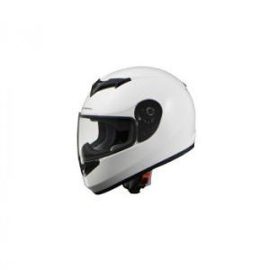 リード工業 STRAX フルフェイスヘルメット ホワイト Lサイズ SF-12 スタンダードなフルフェイスヘルメット。|profit