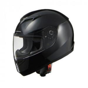 リード工業 STRAX フルフェイスヘルメット ブラック Lサイズ SF-12 スタンダードなフルフェイスヘルメット。|profit