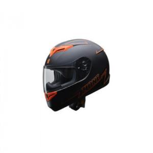 リード工業 LEAD ZIONE フルフェイスヘルメット オレンジ Lサイズ|profit