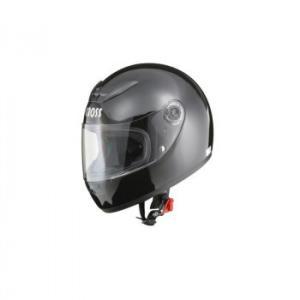 リード工業 CROSS フルフェイスヘルメット ブラック フリーサイズ CR-715 ワンプッシュでシールドが取り外し可能!|profit