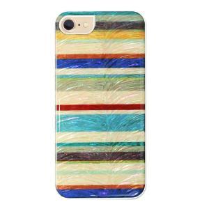 ikins iPhone8/7 天然貝ケース Equator ホワイトフレーム|profit