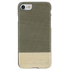 Man&Wood iPhone8/7 天然木ケース Einstein ブラックフレーム|profit