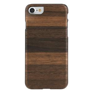 Man&Wood iPhone8/7 天然木ケース Fango ブラックフレーム|profit