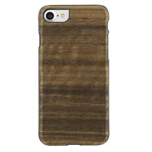 Man&Wood iPhone8/7 天然木ケース Koala ブラックフレーム|profit