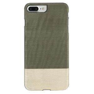 Man&Wood iPhone8Plus/7Plus 天然木ケース Einstein ブラックフレーム|profit