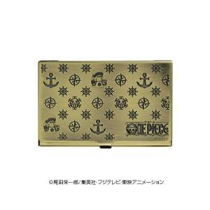 520189411365 ONE PIECE(ワンピース) 電伝虫メタルカードケース ブラス ロー 70314
