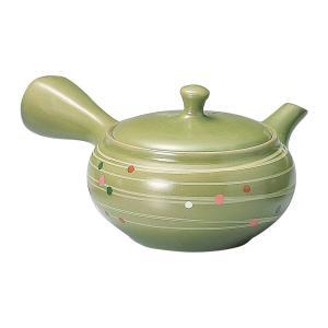 【5,000円以上で送料無料】茶葉が片寄ってもスムーズに注げます。常滑焼の急須です。ギフトにも最適な...