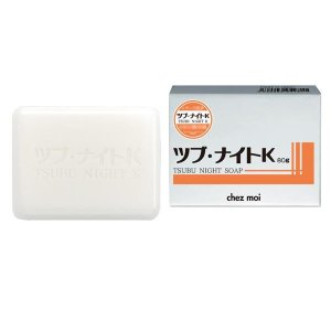 ツブ・ナイトK ソープ(化粧石鹸) 80g ツブ・ナイトKソープでツルスベ素肌!!|profit