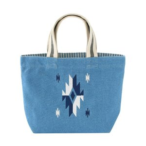 バッグ 刺繍ネイティブ ブルー 14219550154|profit