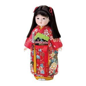 01-763 さゆりちゃん セット かわいらしい女の子の木目込み人形。