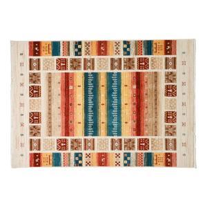 トルコ製ウィルトンラグ RAKKAS ヴィフ 約60×90cm 240619905 手織り絨毯風のウィルトンラグ|profit