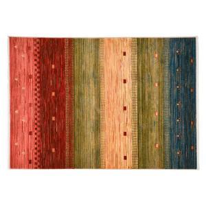トルコ製ウィルトンラグ RAKKAS トワル 約60×90cm 240619915 手織り絨毯風のウィルトンラグ|profit