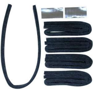 A-49-BF3 レンジフードの溝用 黒い吸油テープ5P×3セット オープンキッチンに最適!レンジフードの溝用黒い給油テープ。|profit