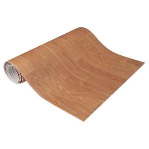 キッチン快適♪吸着クッションフロアマット ウッド・KH-11 60×120cm|profit