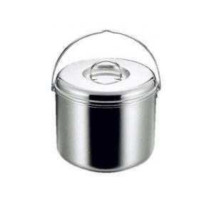 CAPTAINSTAG キャプテンスタッグ 3層鋼つる付寸胴鍋23cm M-8604 3層鋼のつる付寸胴鍋。|profit