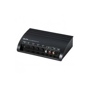ELPA朝日電器 AVセレクター 4IN1 ASL-S411/ビデオやテレビゲーム機など4台の機器の入力切換が可能!