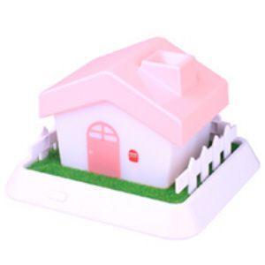 加湿器 超音波加湿器 USB セラヴィ  ハウス型超音波加湿器 CLV-267 ピンク|profit