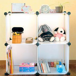 家具 棚 どこでも収納ラック 組み立て式|profit