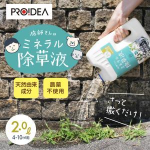 除草剤 雑草 庭 庭師さんのミネラル除草液|profit