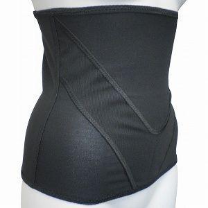 Vアップシェイパー ブラック 腹筋 腹巻 ベルト ヒロミ監修簡単エクササイズ付き ビートップス|profit