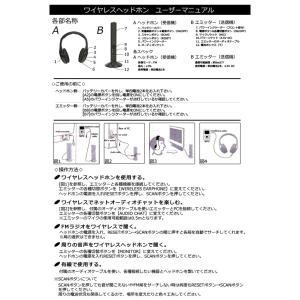 ヘッドホン FMラジオにも 5in1ワイヤレスヘッドホン(ヘッドフォン)|profit|03