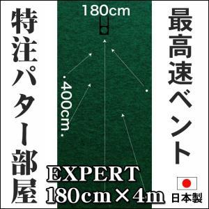 パターマット工房 182cm×400cm EXPERT (個人宅宛配送可) 特注 日本製 パット 練習|progolf