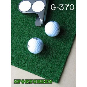 ゴルフ用人工芝 G-370 幅182cm カットオフ 日本製 ゴルフ 練習|progolf
