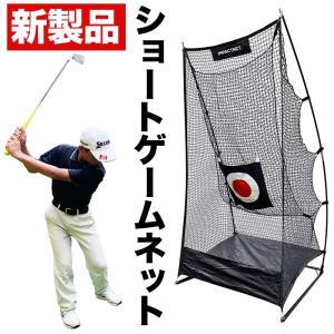 新製品 ショートゲームネット (サポートネットMINI & ターゲット付き) ゴルフ アプローチ 練...
