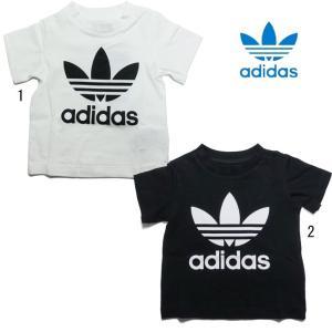 アディダス オリジナルス トレフォイル Tシャツ ベビー キッズ adidas INFANT TREFOIL SHORT TEE FUH74 progres