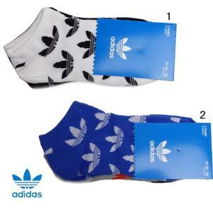 アディダス オリジナルス トレフォイル アンクル ソックス 靴下 2P ソックス adidas|progres
