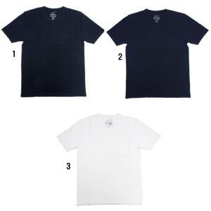 Ambiente アンビエンテ メンズ 半袖 鹿の子 Vネック Tシャツ カットソー TEE|progres
