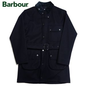 Barbour バブアー バーブァー ソルウェイ SL ボンデッドウール ジャケット SOLWAY SL BONDED WOOL メンズ コート ネイビー|progres