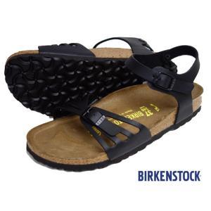 BIRKENSTOCK ビルケンシュトック BALI バリ サンダル レディース アンクルストラップ ブラック 085043 progres