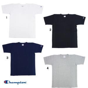 チャンピオン Tシャツ リバースウィーブ  Tシャツ 無地 アメカジ C3-X301 半袖 Tシャツ|progres