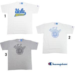 Champion チャンピオン T1011 MADE IN USA プリント カレッジ  Tシャツ UCLA  C5-H303|progres
