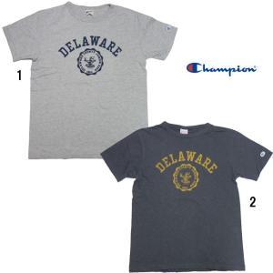 Champion チャンピオン ロチェスター プリント Tシャツ C3-H322 メンズ アメカジ Tシャツ|progres