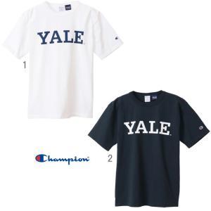 チャンピオン T1011 US Tシャツ MADE IN USA Champion YALE プリントTシャツ メンズ C5-T303|progres