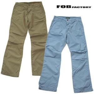 FOBファクトリー イージーパンツ FOB FACTORY F0315|progres