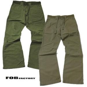 FOBファクトリー イージーパンツ FOB FACTORY F0348|progres
