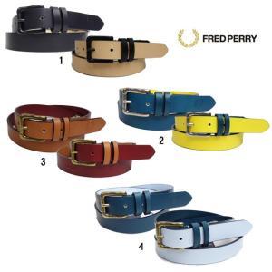 FRED PERRY フレッドペリー メンズ リバーシブル レザー アジャスタブル ベルト F19683|progres